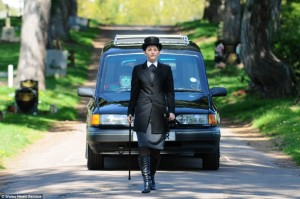 Female Funeral Director