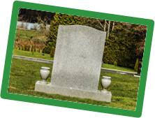 Permanent Memorials are still an option for families who choose cremation.