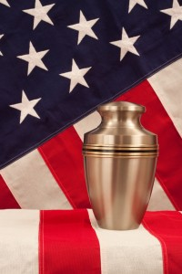 Veteran benefits are available to qualifying families choosing cremation or burial.