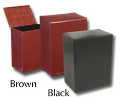 Basic cremation urn commonly provided with a direct cremation.