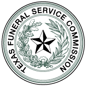 State regulations are created and enforced by the Texas Funeral Service Commission.